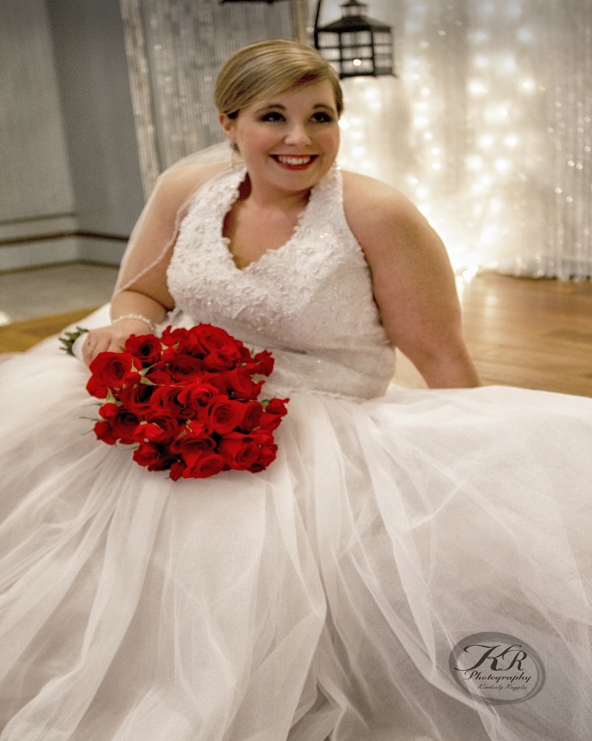 Bride at Trevitt Hall, Daltton, GA. wedding photography by KR photography cartersville, ga