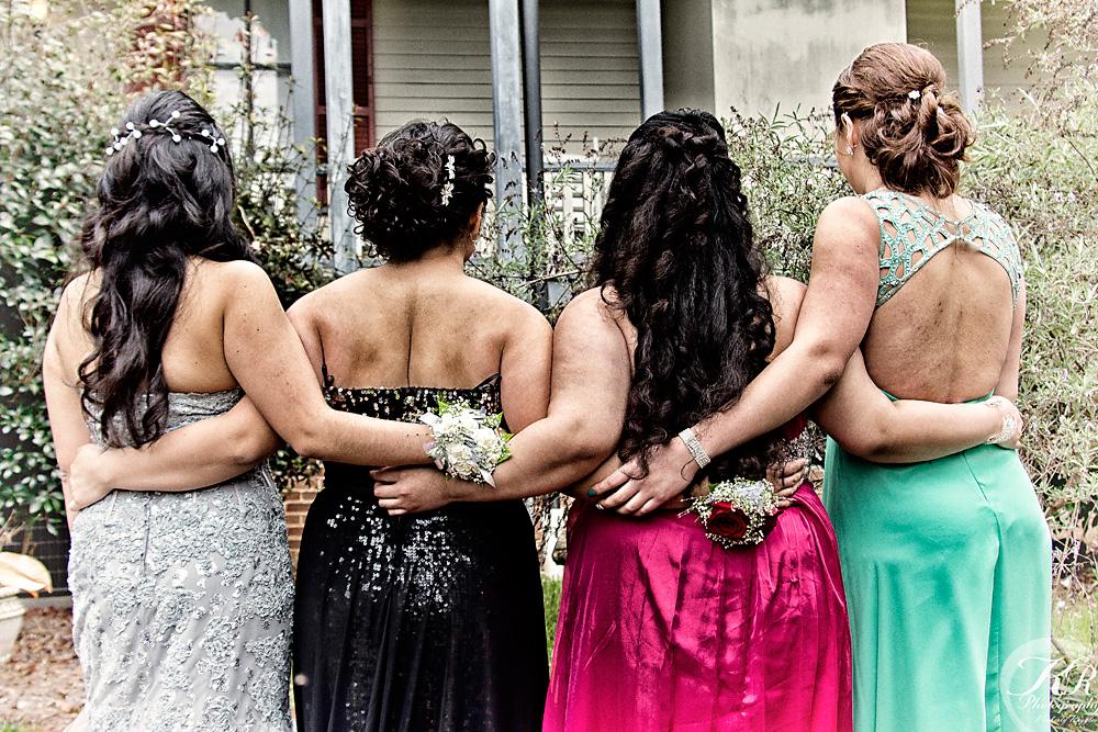 prom dress details